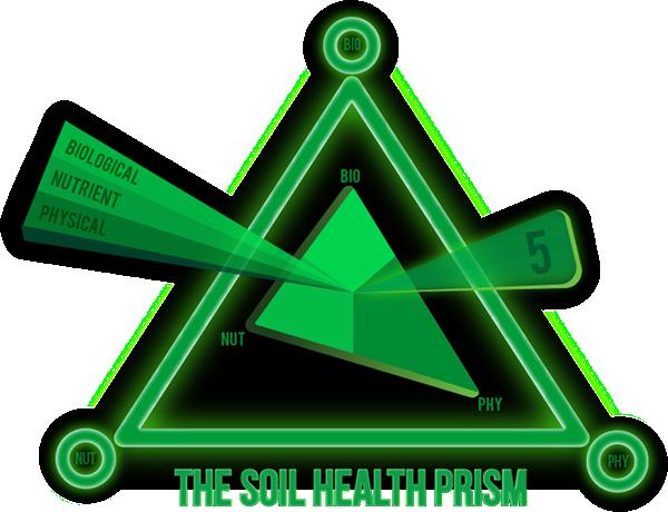 The soil health prism